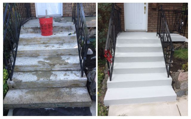 Stairs Beforeand After